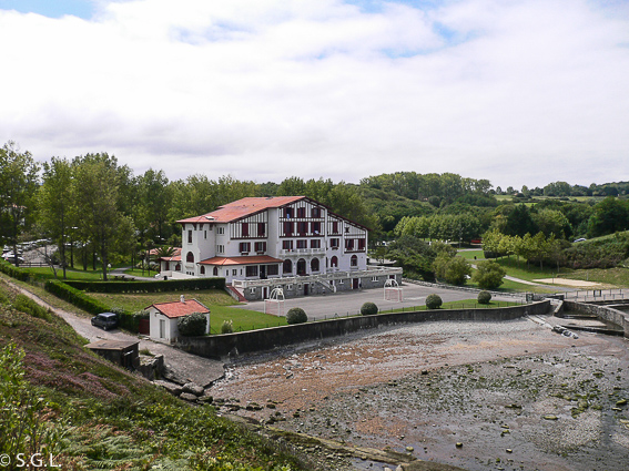 Sendero del litoral. Ruta de Hendaya a Bidart. Francia