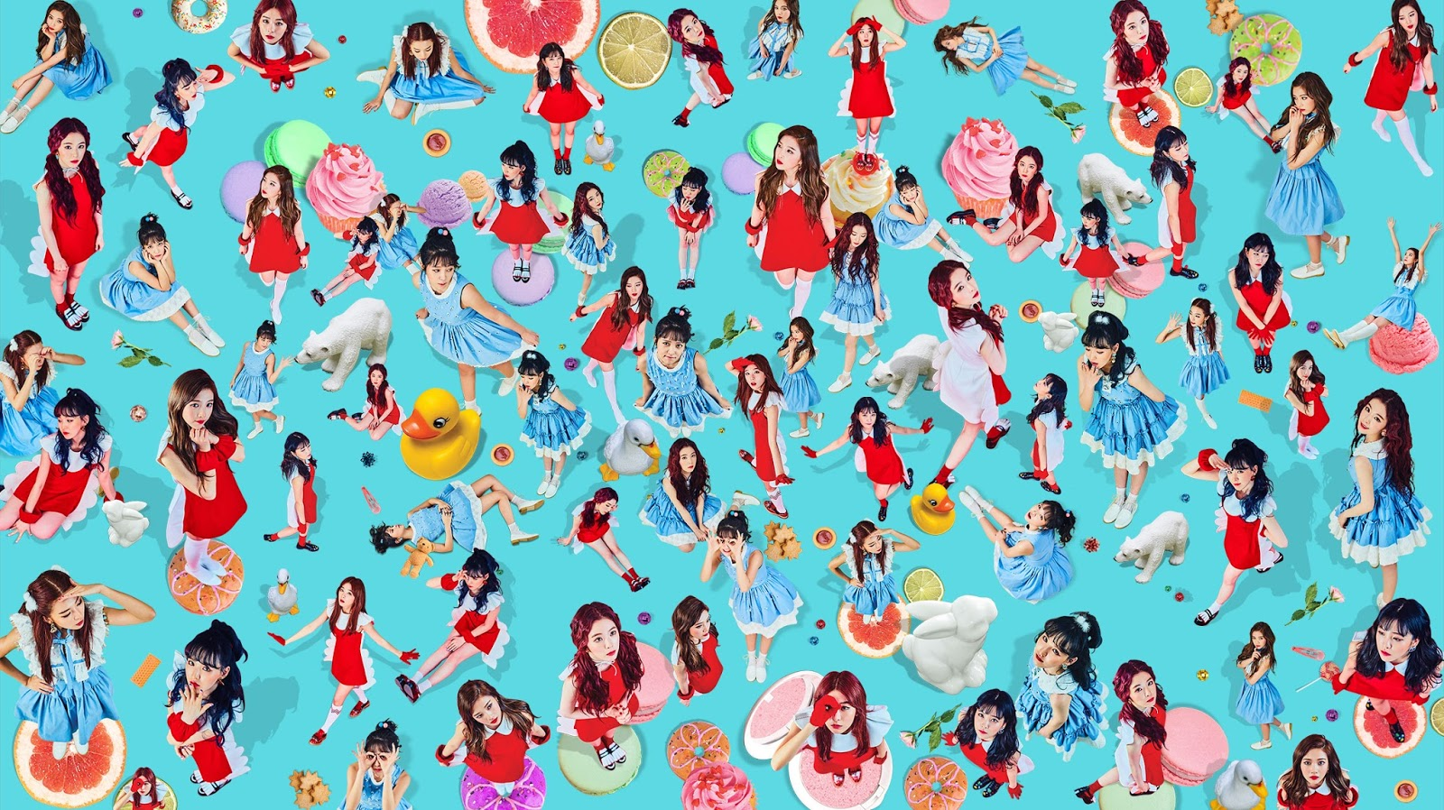 Full Hq Red Velvet Members Teaser Images For Rookie Hq Kpop Photos
