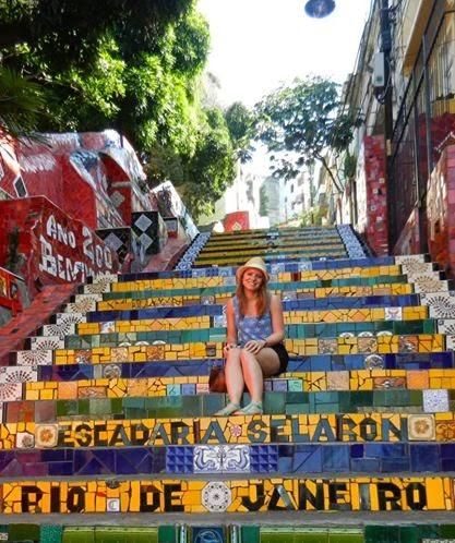 Wanderlust Chloe - Chloe Gunning - Escadaria Selaron Rio De Janeiro