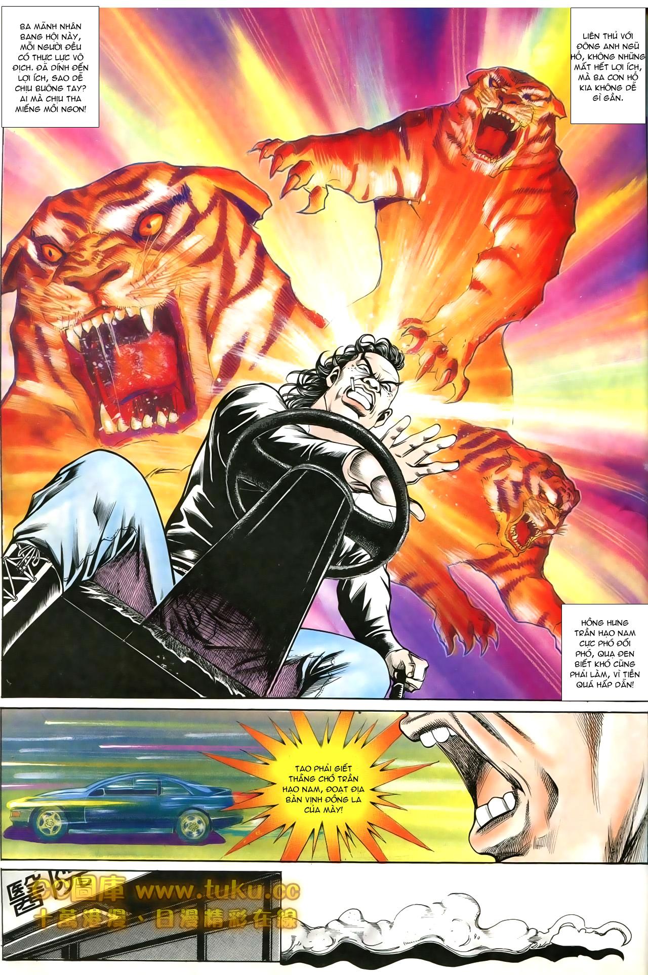 Người Trong Giang Hồ chapter 197: quạ đen báo thù trang 25
