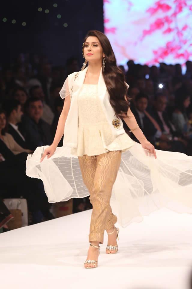 LALA TEXTILES 'SHEEN' COLLECTION AT FASHION PAKISTAN WEEK 2016