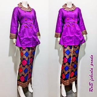 Baju Batik Setelan Model Febiola Prodo