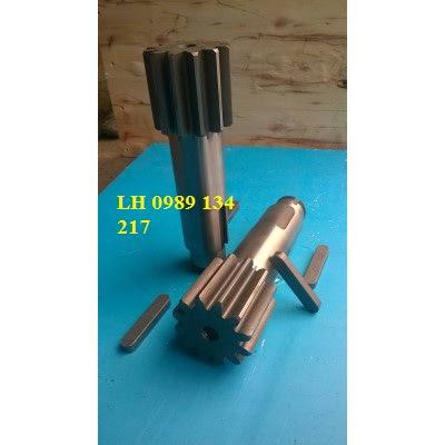 Trục bánh răng hộp giảm tốc quay toa cẩu Soosan 7 tấn SCS746-A57253