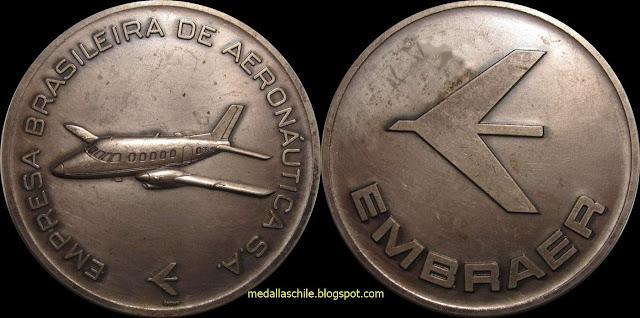 Medalla  EMPRESA BRASILEIRA DE AERONAUTICA S.A