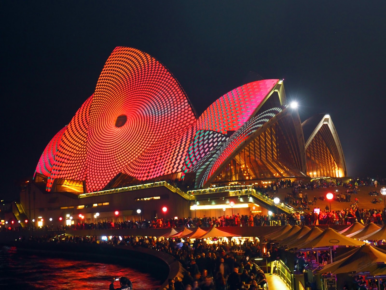 Opera House Vivid Festival Sydney