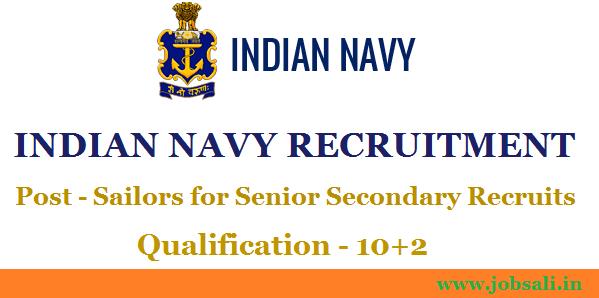 Join Indian Navy, Jobs in Indian Navy, Indian Navy Careers