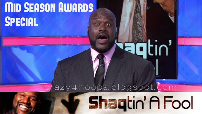 Shaqtin' A Fool : The Shaqtin's Mid-Season Awards