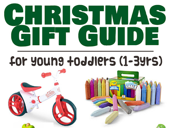Christmas Shopping Guide: Gifts for Young Toddlers (1-3yrs)