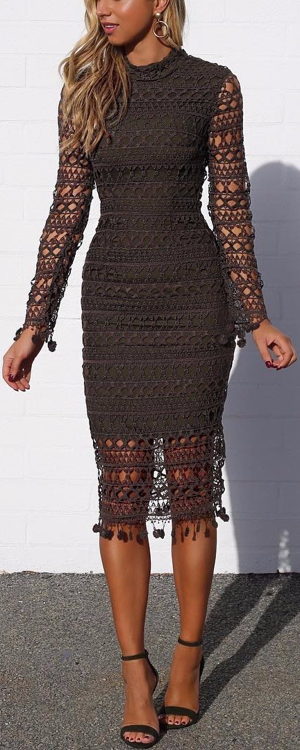 lacey dress obsession / in love with this look