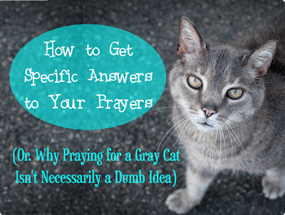 How to Get Specific Answers to Your Prayers -- Some people pray for such specific things and get exactly what they prayed for... are they just God's favorites, or what?  {posted @ Unremarkable Files}