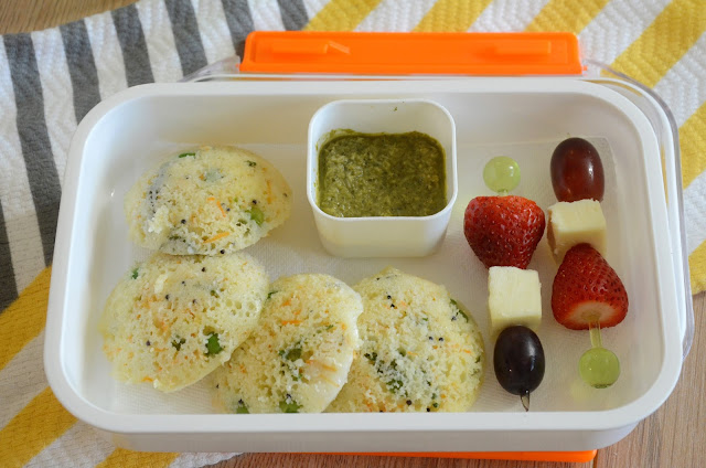 Masala Idli For Kids Lunch Box | Easy And Quick Lunch Box Recipe