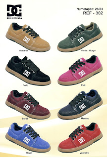 dc shoes tenis atacado