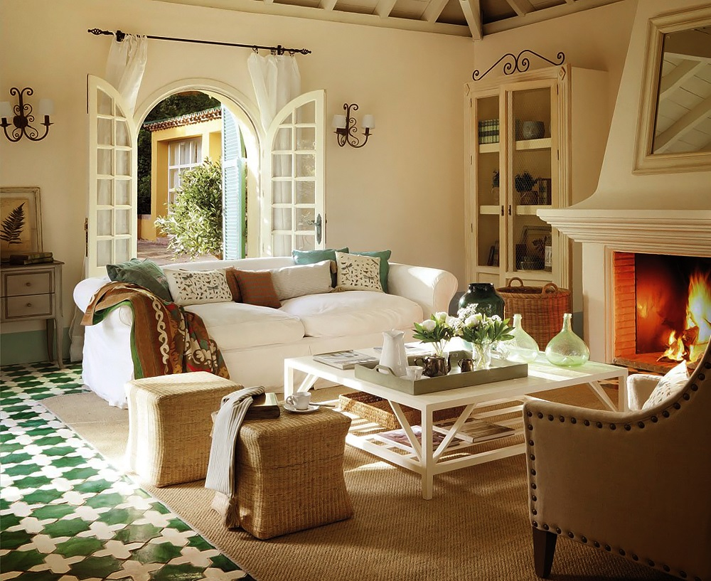 appealing country home interior design | New Home Interior Design: Country House