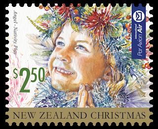 Nueva Zelanda - Navidad 2014 - Valor 2.50 NZD - Autoadhesivo