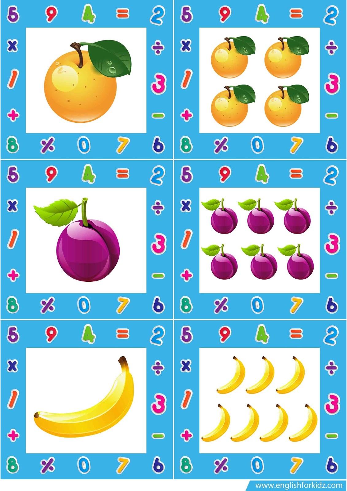Singular And Plural Nouns Flashcards