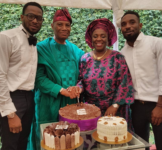 dbanj secret wedding