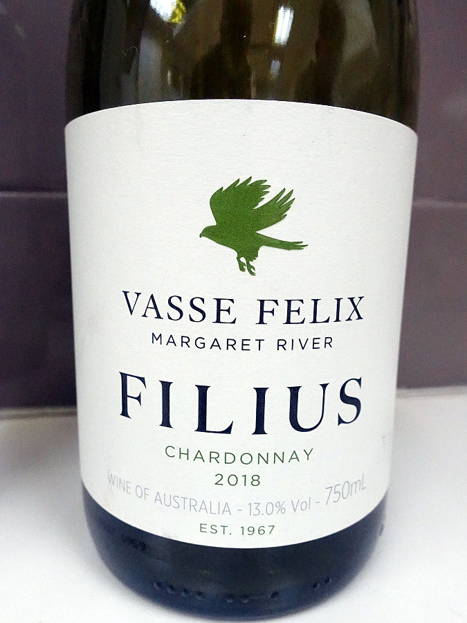 Vasse Felix Filius Chardonnay 2018 (91 pts)