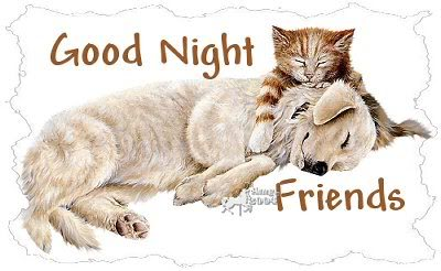 good night images cartoon