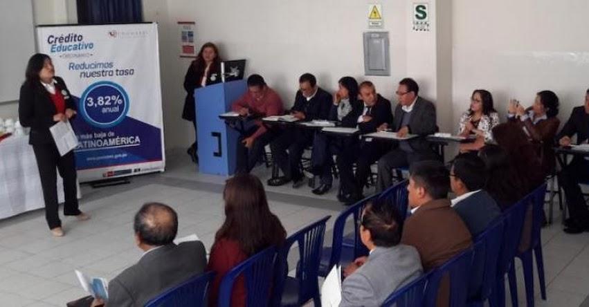 PRONABEC: Autoridades académicas de Junín se informan del Crédito Educativo - www.pronabec.gob.pe