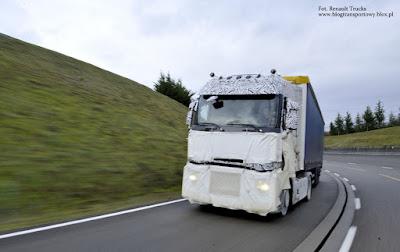 Testy nowej gamy ciężarówek Renault