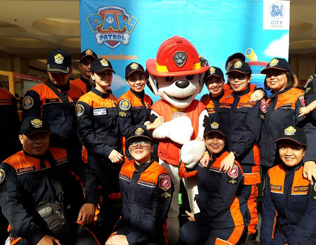 Junior Fire Fighters Camp in SM City Marikina