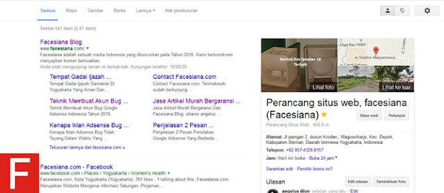 Penyabab Sitelink Hilang Dari Pencarian Google Dan Bagaimana Cara Mengembalikannya