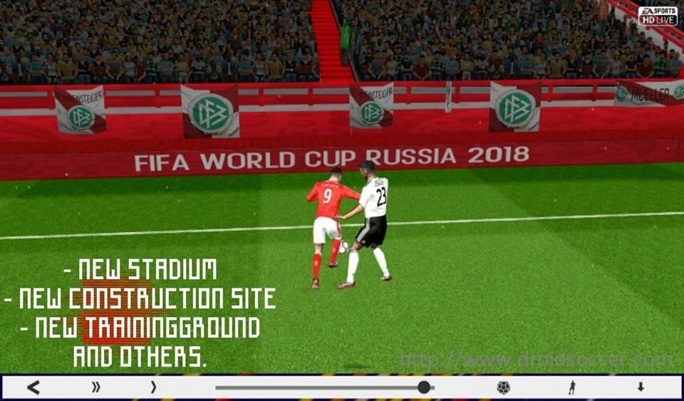 Скачать мод fifa world cup 2018