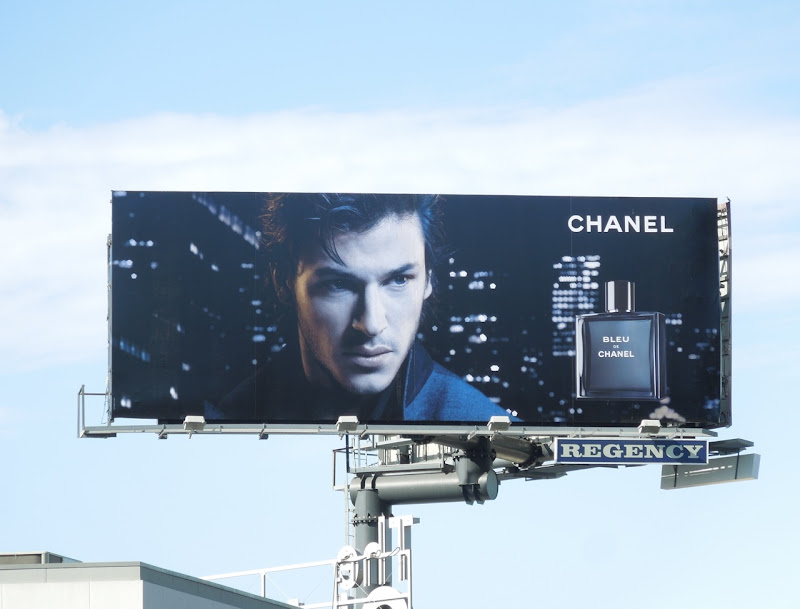 Bleu de Chanel fragrance billboard