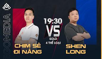 Chim Sẻ vs Shenlong   Solo 4 Thể Loại   08-06-2020