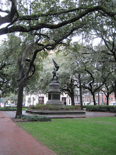one of Savannah's Squares