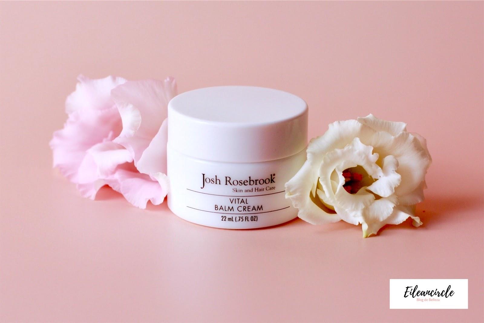 Crema, bálsamo facial, cosmética, cosmética natural, Josh Rosebrook