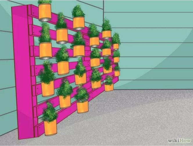 C mo hacer un jard n vertical en wikihow jardines - Hacer un jardin vertical ...