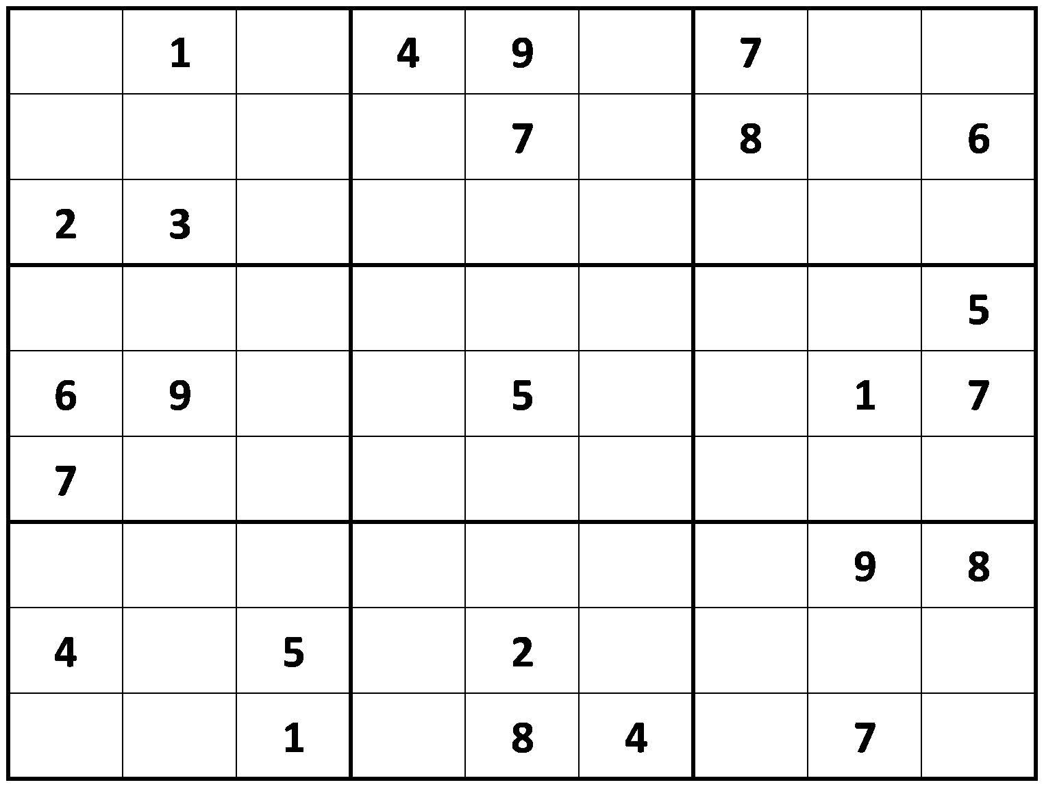Loco Sudoku Puzzles To Printable