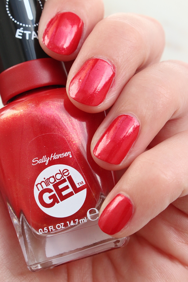 Sally Hansen #446 Red-y, Set, Run!