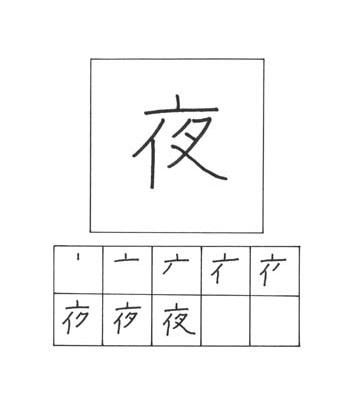 kanji malam