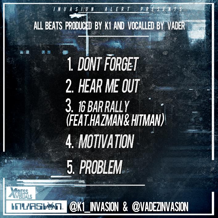 K1_Invasion & @VadezInvasion – Motivation Alert EP (Free Download