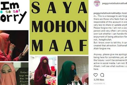 Peggy Melati Sukma Sudah Lama Berhijrah, Tiba-Tiba Ubah Penampilan Sambil Minta Maaf