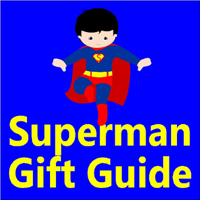 Find lots and lots of fun Superman gift ideas for Christmas or your favorite superhero's birthday with this Superman gift guide.  You'll find lots of fun and unique gifts to wow your favorite fan.