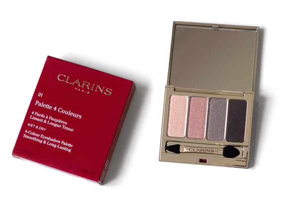 Clarins 4-Colour Eyeshadow Palette Fall 2016 01 Nude Review Photos
