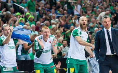 2017-2018 Litvanya şampiyonu Zalgiris Kaunas