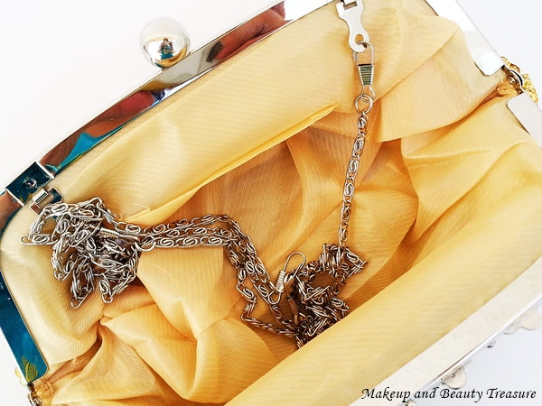 buy golden clutch online
