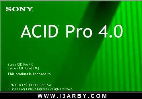 تحميل برنامج acid pro 4.0 برابط مباشر