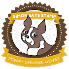 Simon Says Stamp Monday Challenge Winner