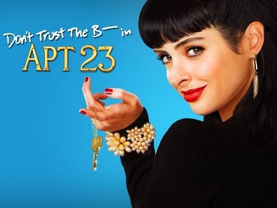 Don't Trust the B---- in Apt 23 - Chloe looks behind her and holds a key with her finger