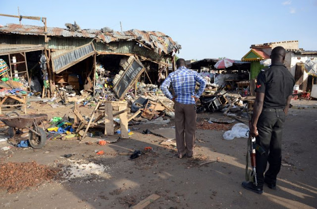 Suspected Boko Haram suicide bombers kill at least 13 in Nigeria: officials