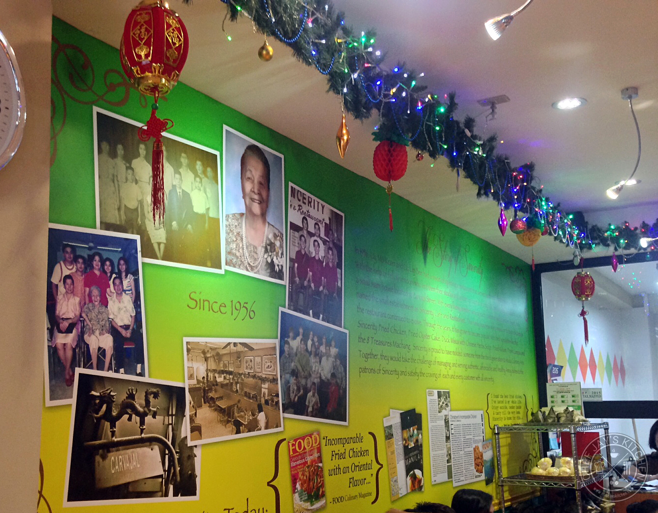 Sincerity cafe restaurant the best fried chicken and for Asian cuisine history