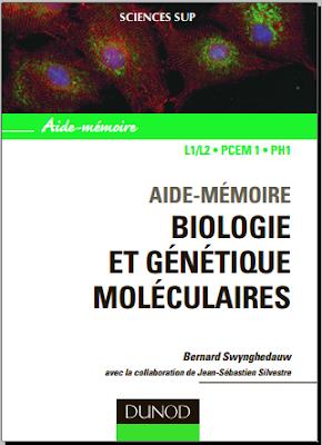 Télécharger Livre Gratuit Aide-mémoire - Biologie et génétique moléculaires L1/L2, PCEM1, PH1 pdf