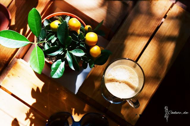 kawa, kalamondyna, fotografia analogowa