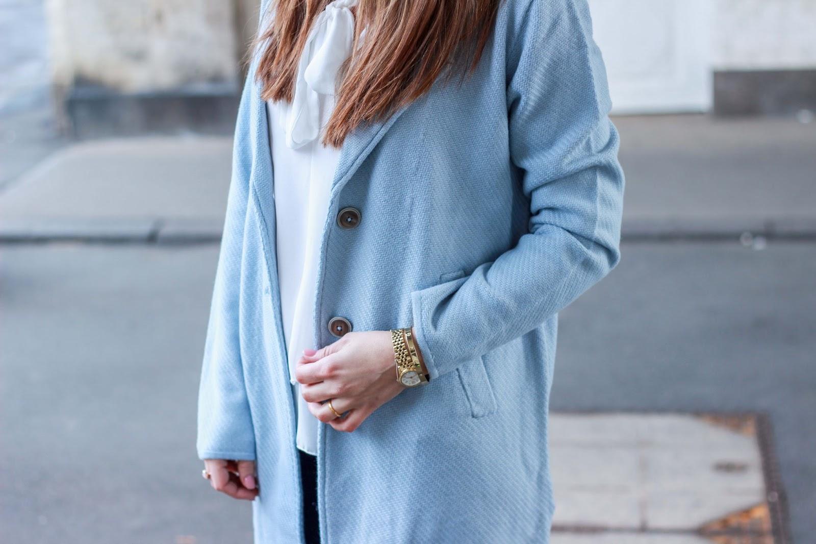 Gerry weber blauer mantel