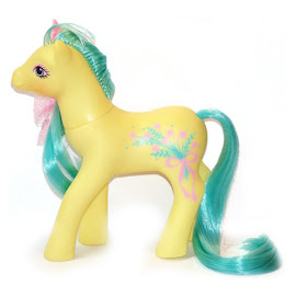 MLP Frilly Flower Year Seven Sweetheart Sister Ponies G1 Pony